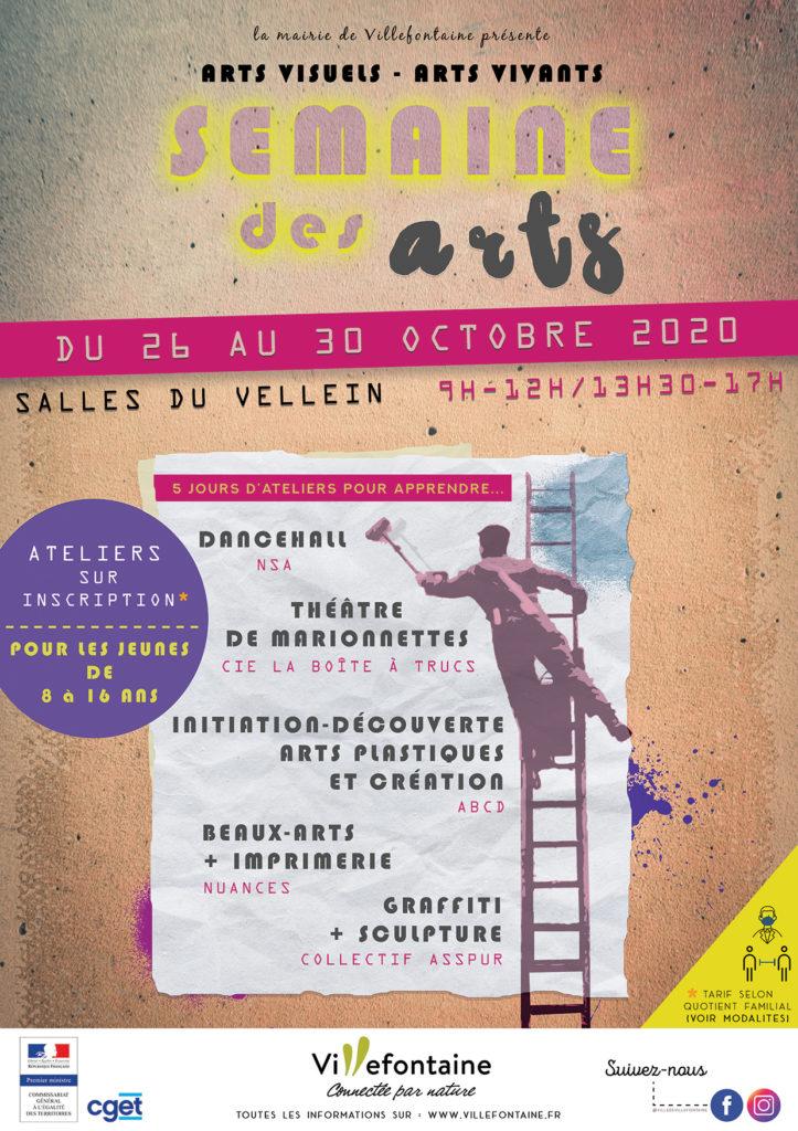 Semaine des arts 2020